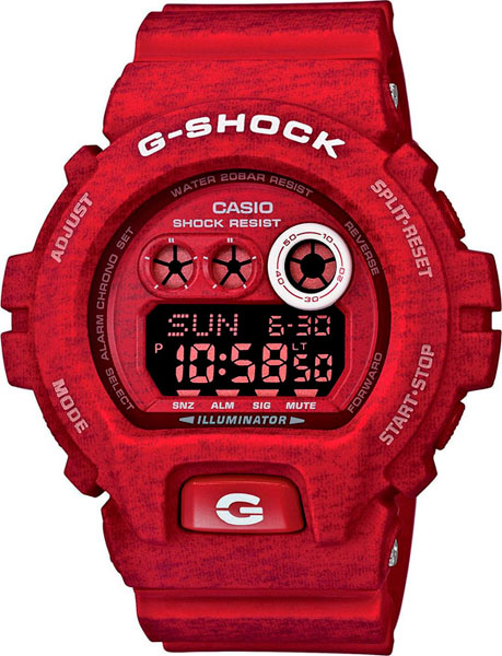 Мужские часы Casio GD-X6900HT-4E casio casio gd x6900mc 5e