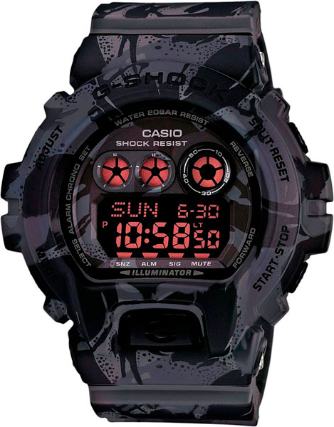 Мужские часы Casio GD-X6900MC-1E casio casio gd x6900mc 5e