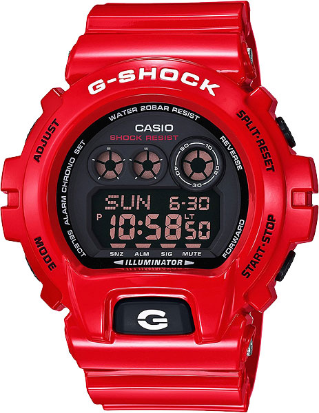 Мужские часы Casio GD-X6900RD-4E abnormal psychology 4e