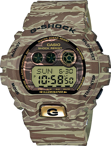 Мужские часы Casio GD-X6900TC-5E casio gd x6900tc 5e