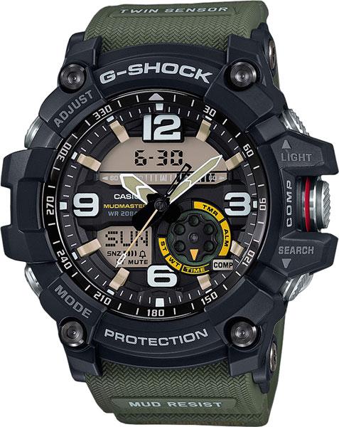 Японские мужские часы в коллекции G-SHOCK Мужские часы Casio GG-1000-1A3 фото