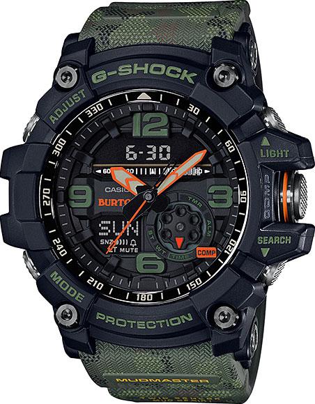 Мужские японские наручные часы Casio G-SHOCK GG-1000BTN-1A с хронографом