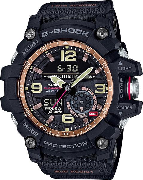 Мужские часы Casio GG-1000RG-1A casio g shock mudmaster burton gg 1000btn 1a