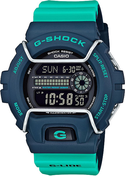 Мужские часы Casio GLS-6900-2A casio gls 6900 2e