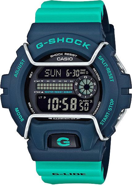 все цены на Мужские часы Casio GLS-6900-2A онлайн