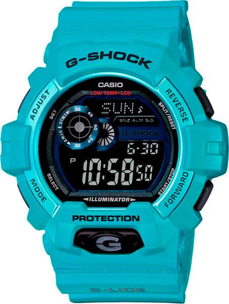 Мужские часы Casio GLS-8900-2E casio часы casio gls 8900 1e коллекция g shock