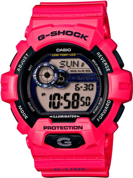 Мужские часы Casio GLS-8900-4E casio часы casio gls 8900 1e коллекция g shock