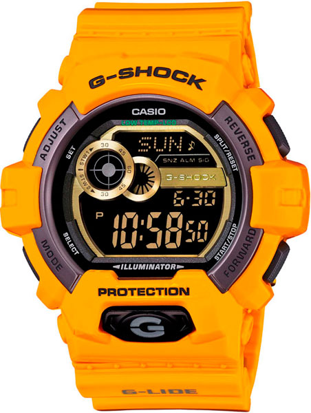 Мужские часы Casio GLS-8900-9E casio часы casio gls 8900 1e коллекция g shock