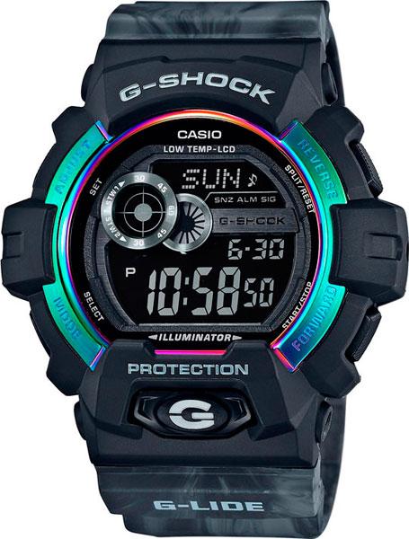 Мужские часы Casio GLS-8900AR-1E casio часы casio gls 8900 1e коллекция g shock