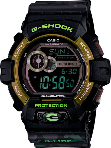 где купить Мужские часы Casio GLS-8900CM-1E по лучшей цене