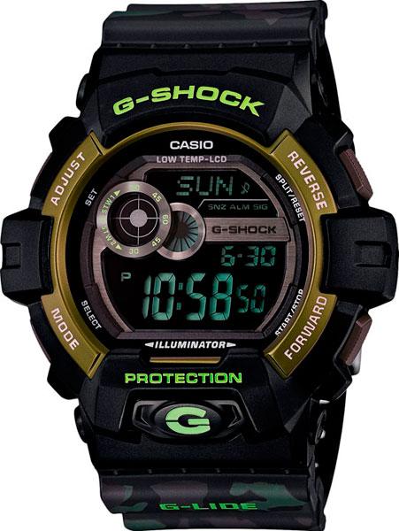 Мужские часы Casio GLS-8900CM-1E casio часы casio gls 8900 1e коллекция g shock