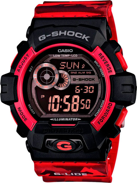 Мужские часы Casio GLS-8900CM-4E цена и фото