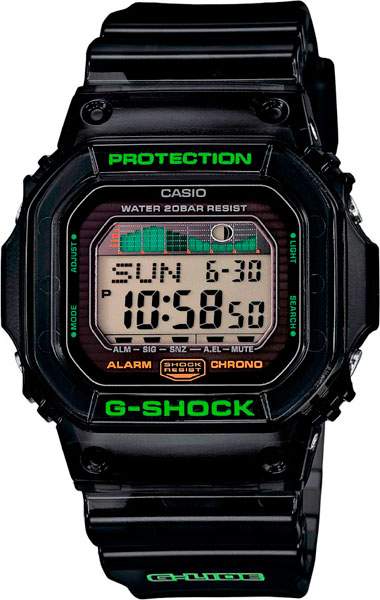 Мужские часы Casio GLX-5600C-1E часы casio gw m5610 1e