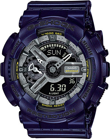Женские часы Casio GMA-S110MC-2A casio часы casio gma s110mc 6a коллекция g shock