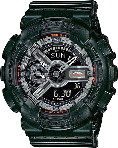 Женские часы Casio GMA-S110MC-3A casio часы casio gma s110mc 6a коллекция g shock