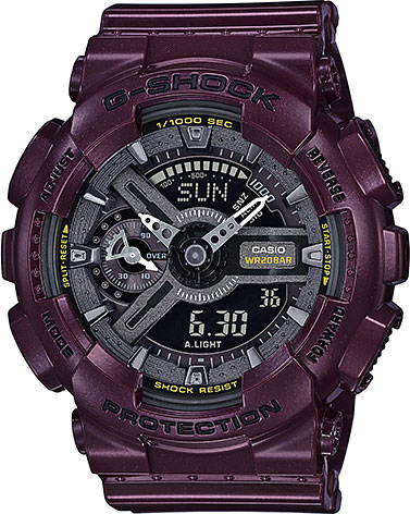 Женские часы Casio GMA-S110MC-6A casio часы casio gma s110mc 6a коллекция g shock
