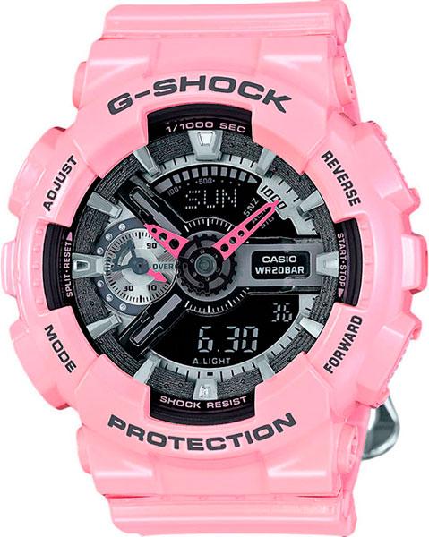 Женские часы Casio GMA-S110MP-4A2 casio shn 5010l 4a2