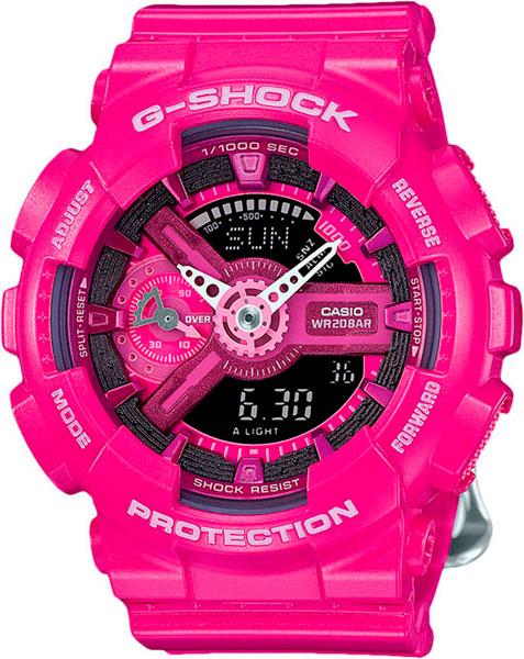 Женские часы Casio GMA-S110MP-4A3 casio часы casio gma s110mp 4a3 коллекция g shock