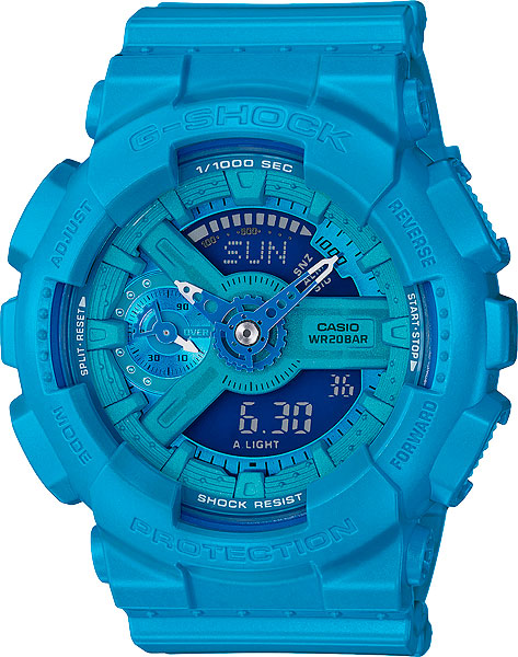 Женские часы Casio GMA-S110VC-2A casio gma s110f 2a casio