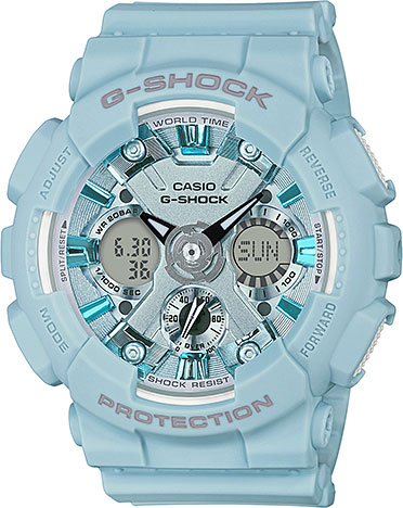 Женские часы Casio GMA-S120DP-2A casio gma s120mf 2a