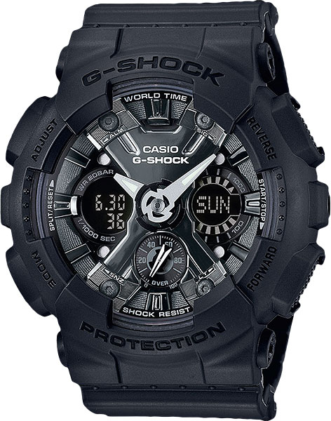 Мужские часы Casio GMA-S120MF-1A casio часы casio gma s110mc 6a коллекция g shock