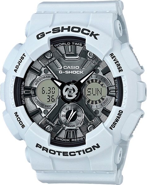 Мужские часы Casio GMA-S120MF-2A casio часы casio gma s110mc 6a коллекция g shock