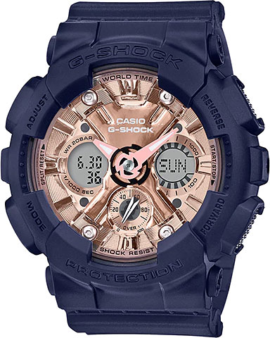 Женские часы Casio GMA-S120MF-2A2 casio gma s120mf 2a