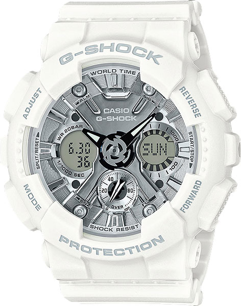 Мужские часы Casio GMA-S120MF-7A1 casio часы casio gma s110mc 6a коллекция g shock