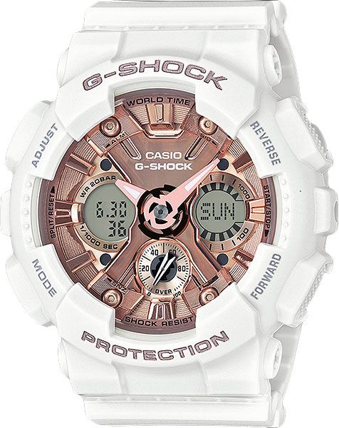 Женские часы Casio GMA-S120MF-7A2 casio часы casio gma s110mc 6a коллекция g shock
