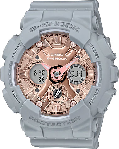 Женские часы Casio GMA-S120MF-8A casio gma s120mf 2a