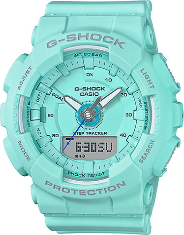 Женские часы Casio GMA-S130-2A casio gma s110f 2a casio