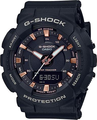 цена Женские часы Casio GMA-S130PA-1A онлайн в 2017 году