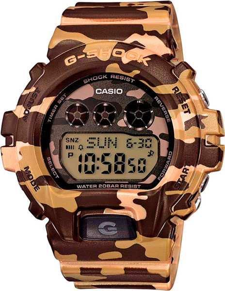 где купить Женские часы Casio GMD-S6900CF-3E по лучшей цене