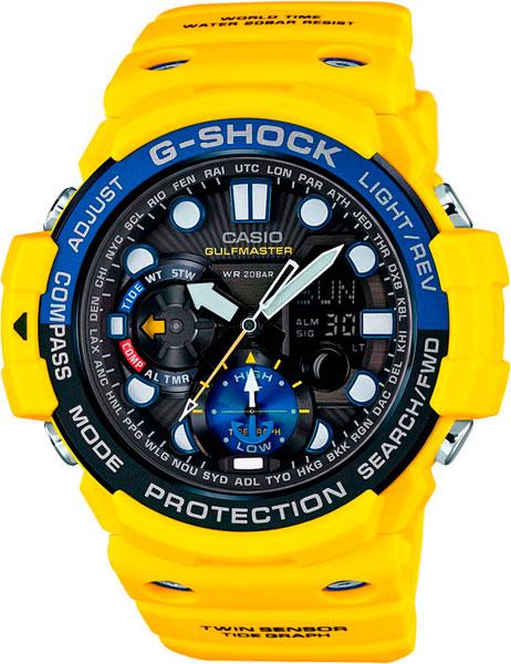 Мужские часы Casio GN-1000-9A casio часы casio gn 1000 9a коллекция g shock