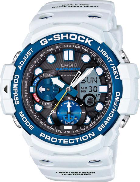 цена Мужские часы Casio GN-1000C-8A онлайн в 2017 году