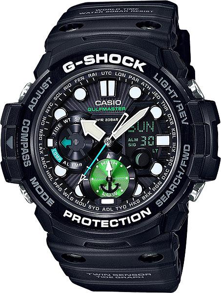 Мужские часы Casio GN-1000MB-1A casio gn 1000c 8a