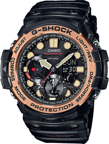 Мужские часы Casio GN-1000RG-1A цена и фото