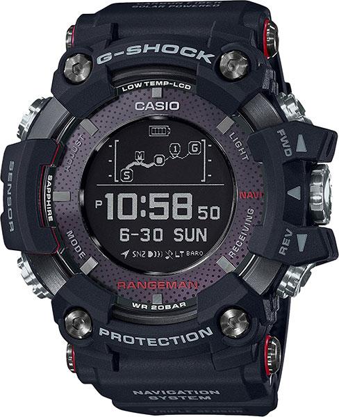 Мужские часы Casio GPR-B1000-1E часы с навигацией для детей