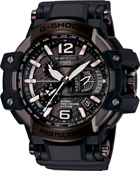 Мужские часы Casio GPW-1000T-1A casio gpw 1000t 1a
