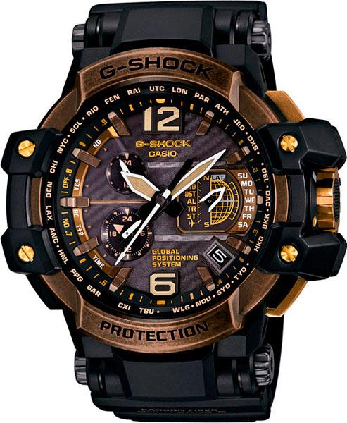 Мужские часы Casio GPW-1000TBS-1A casio gpw 1000 1a