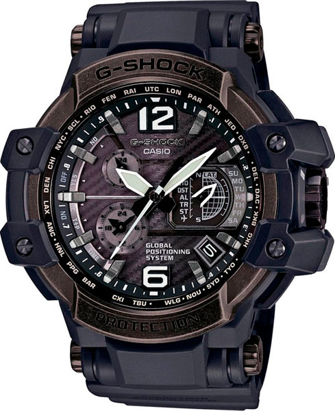 Мужские часы Casio GPW-1000V-1A casio gpw 1000 1a