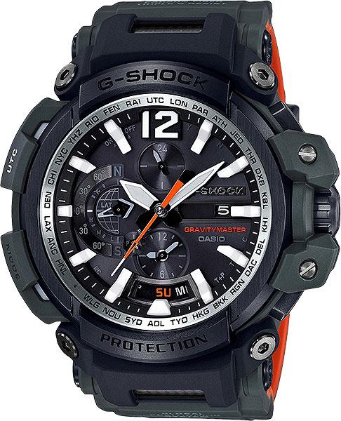 Мужские часы Casio GPW-2000-3A casio gpw 1000t 1a