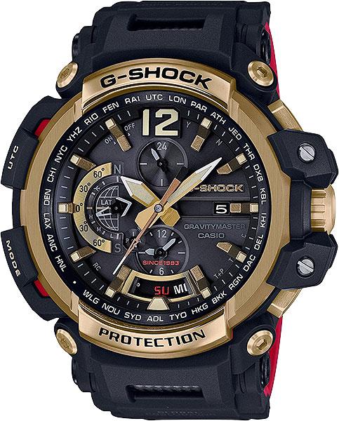 где купить Мужские часы Casio GPW-2000TFB-1A по лучшей цене