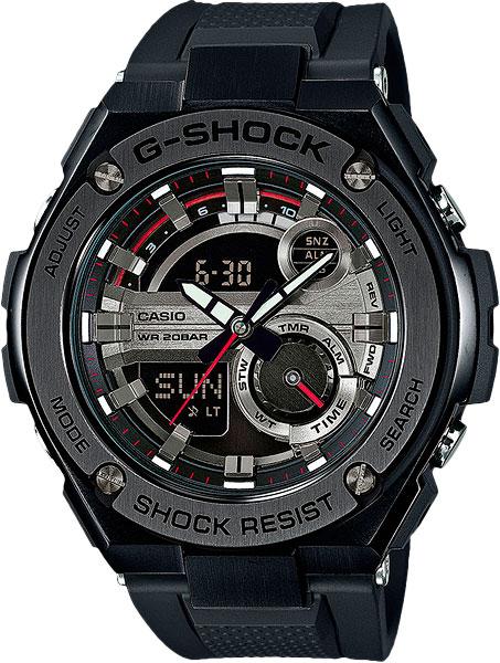 Мужские часы Casio GST-210B-1A casio gst 200rbg 1a