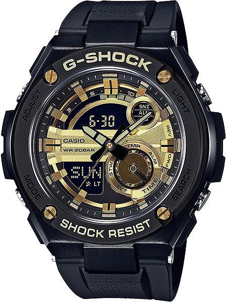 Мужские часы Casio GST-210B-1A9 casio gst 210b 1a9
