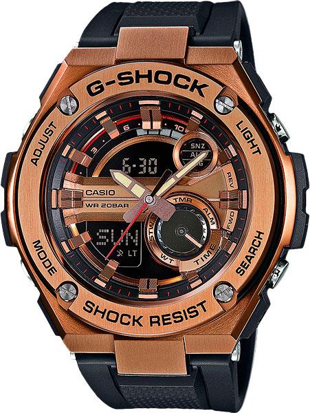 Мужские часы Casio GST-210B-4A цена и фото