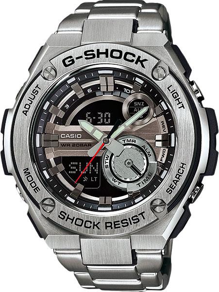 Мужские часы Casio GST-210D-1A casio gst w110 1a casio