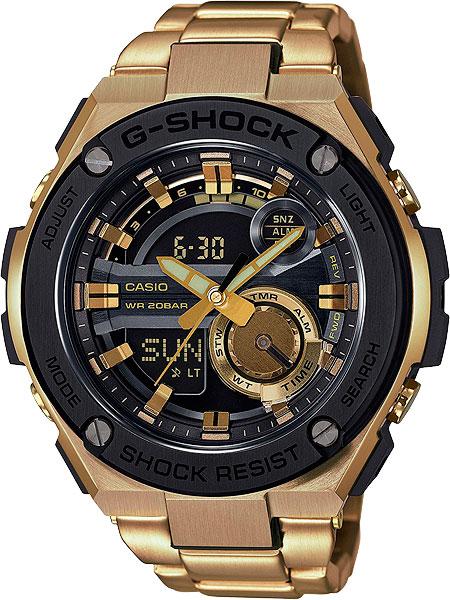 Мужские часы Casio GST-210GD-1A casio gst 210gd 1a