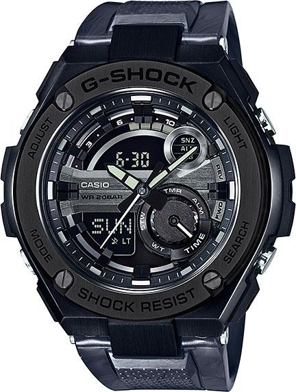 Мужские часы Casio GST-210M-1A casio gst 200rbg 1a