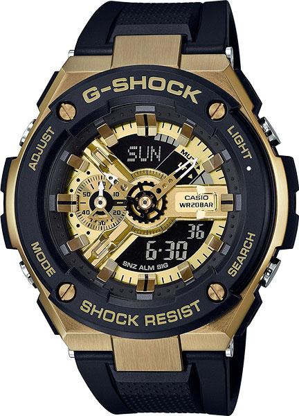 Мужские часы Casio GST-400G-1A9 мужские часы casio gba 400 1a9